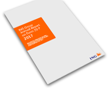 cover 2017 Annual Report ING Group on Form 20-F