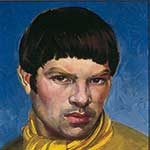 Portrait of a young man in yellow