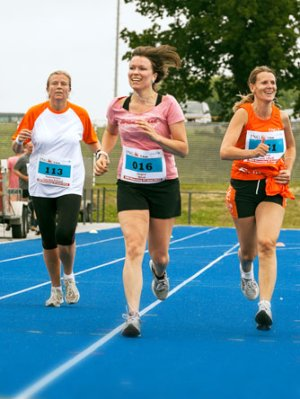 ING Run, UNICEF, impressie van de loop