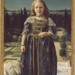 Girl in renaissance costume