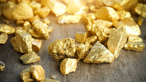 All of the world's mined gold would fit in a 21 metre cube.