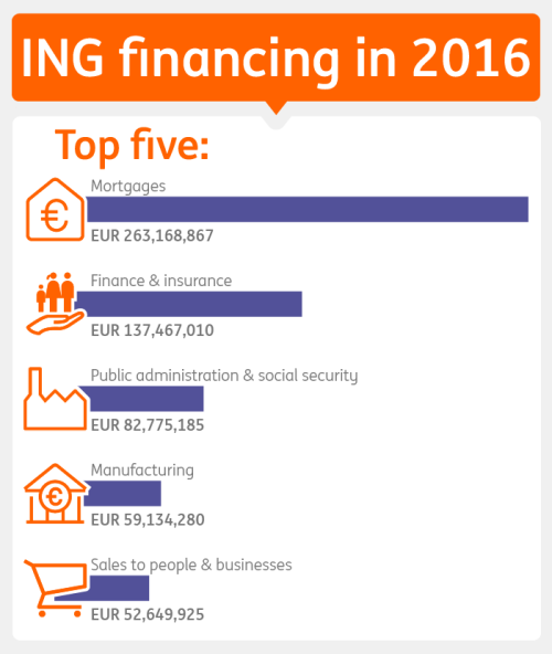 Table ING financing in 2016