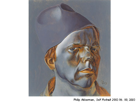 The Magic of Dutch Realism - Philip Akkerman - Self Portrait 2003 No. 80