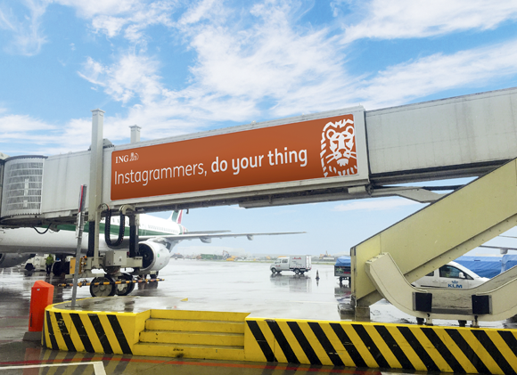 Homepage: ING launches 'do your thing'