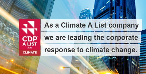 CDP climate leaders