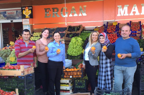 Mehmet Turan Ergan's business grew after he received an instant loan from ING.