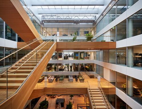 Nieuwe Design Bank.Head Office Ing