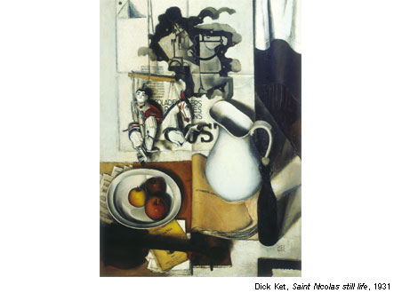 The Magic of Dutch Realism - Dick Ket - Saint Nicolas still life