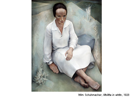 The Magic of Dutch Realism - Wim Schuhmacher - Melitta in white