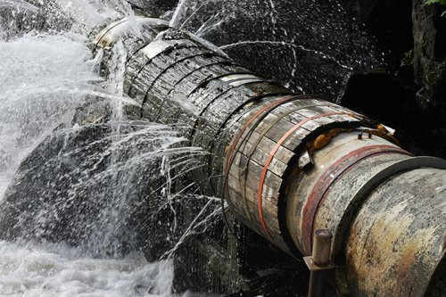 The first step to reduce water losses in developing regions is fixing old and leaky pipes.
