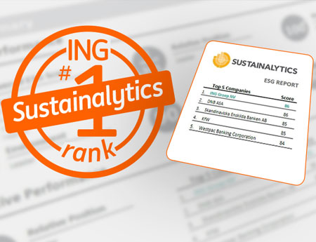 ING is sustainability leader among banks