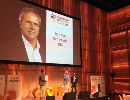 Ron van Kemenade named European Chief Information Officer of the Year