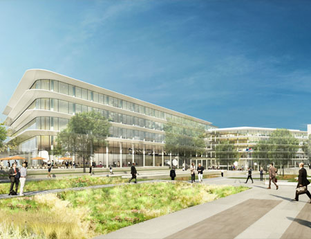 ING chooses architects Benthem Crouwel for construction of new head office