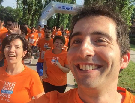 Employees across five continents run for UNICEF